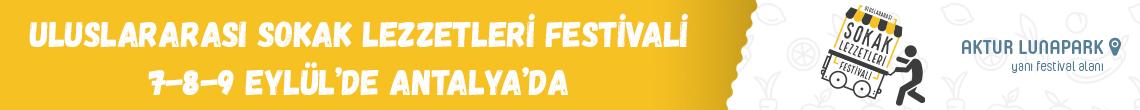 Sokak Lezzetleri Festivali Antalya